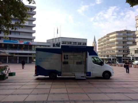 Beratungsmobil der Unabhängigen Patientenberatung kommt am 19. Februar nach Pforzheim.