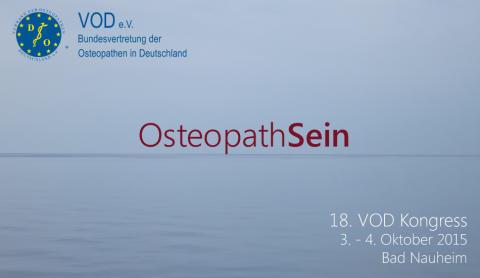 18. Osteopathie-Kongress des Verbandes der Osteopathen Deutschland (VOD) e.V. in Bad Nauheim
