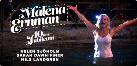Malena Ernman på Dalhalla firar 10 år i sommar – med kära återseenden!