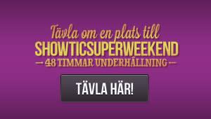 SHOWTIC.se låter 30 personer testa sin uthållighet på Showticsuperweekend!
