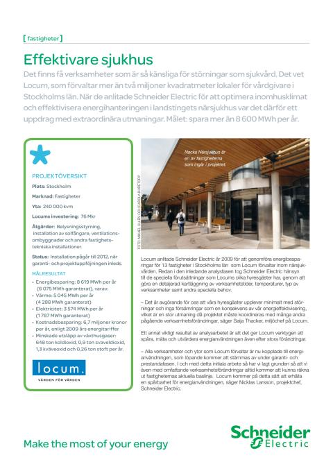 Projektbeskrivning Locum