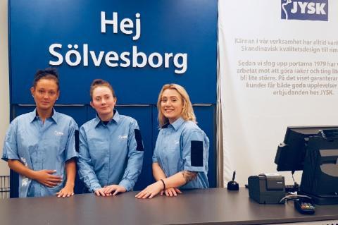 JYSK växer med Sölvesborg