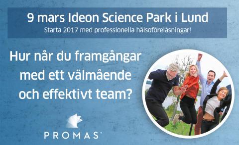 Hur når du framgångar med ett välmående team? Per Gärdsell och Peter Engstrand föreläser hos Promas.