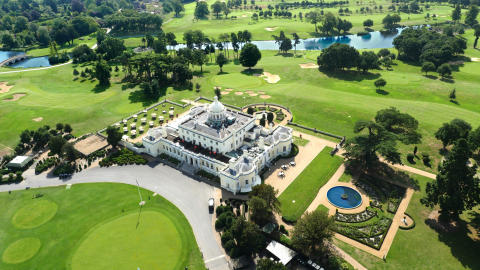 Spend Valentine's Day in pure luxury at Stoke Park!