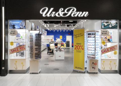 Ur&Penn öppnar butik i Ingelsta shopping