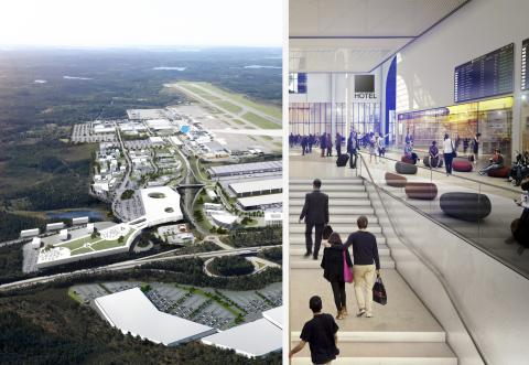 Swedavia utlyser projekttävling arkitektur för hotell vid Göteborg Landvetter Airport (1)