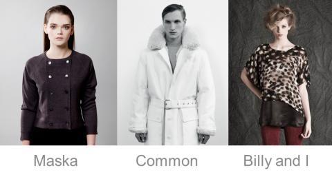 Modeinkubatorn tar plats under London Fashion Week och lockar besökare med ett skandinavisk showroom