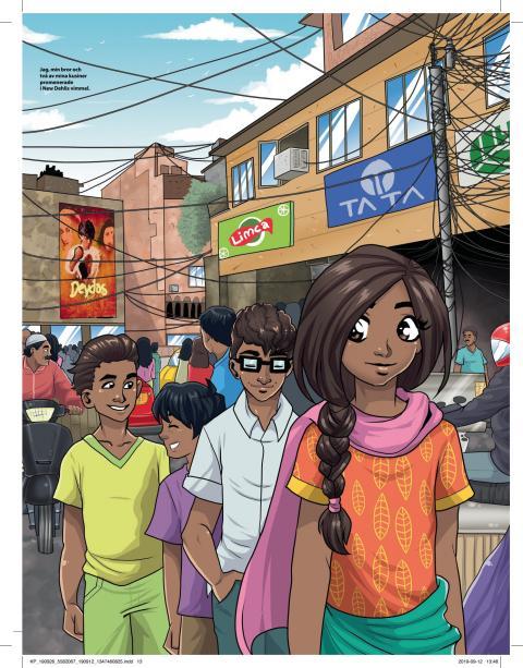 14-åriga Iren Rahman vann Storytels och KP:s novelltävling för barn. Drygt 800 tävlingsbidrag skickades in till tävlingen.