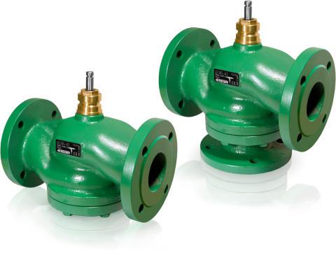 GF2/GF3, Regins läckagefria flänsade ventiler med DIN-bygglängd