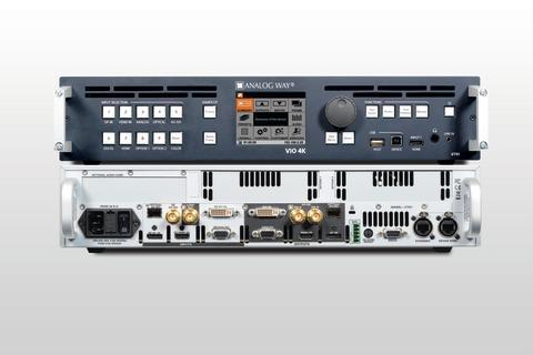Neuer Signalprozessor VIO 4K von Analog Way