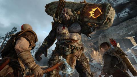God of War nådde över 3,1 miljoner sålda exemplar – på tre dagar