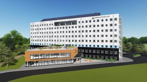 Arenahotellet – ett exempel på konceptet prefabricerat