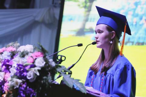 NIST International School's Class of 2016 valedictorian