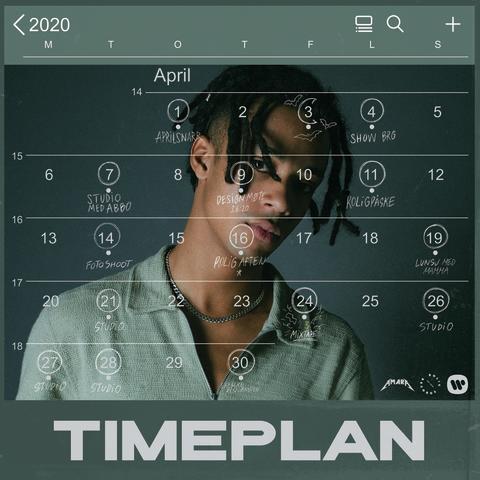 Amara - Timeplan (artwork)