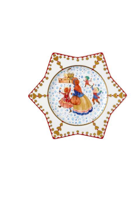 HR_Christmas_market_2019_Star_shaped_Plate_20_cm