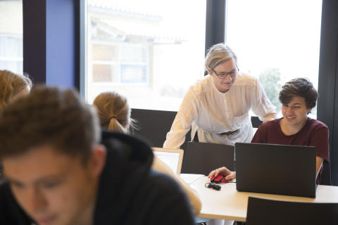 Anette Skovlykke Nielsen, Rektor Tradium Mariagerfjord, glæder sig til at åbne e-sportsakademiet.