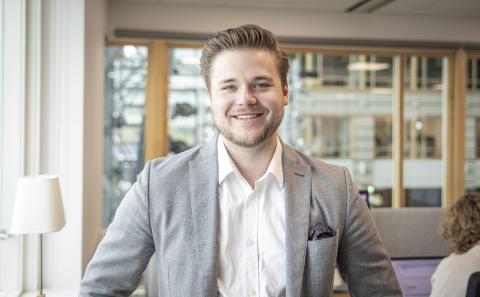 Fredrik Laine – driven area sales manager förstärker Stockholmskontoret