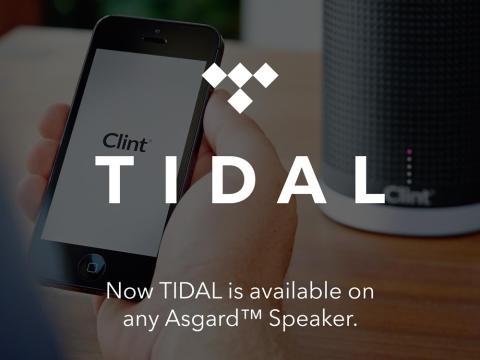 Clint Digital og TIDAL samarbeid - Musikkstreaming i høyeste kvalitet