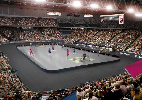 Tele2 Arena - SM-finalen i innebandy