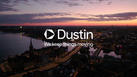 Dustin continues the transformation – update the brand