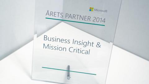 Sigma vinnare när Microsoft utser Partner of the Year