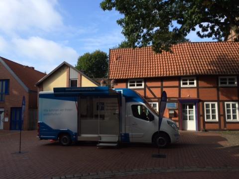 Beratungsmobil der Unabhängigen Patientenberatung kommt am 9. Februar nach Nienburg.