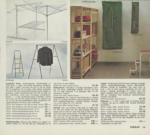 BOSSE: IKEA katalogside 1970 - i kataloget for første gang