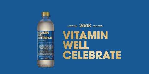 Vitamin Well firar tio år med ny somrig smak – hyllar alla som varit med på resan
