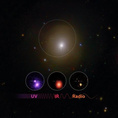 Kolliderande neutronstjärnor ger gravitationsvågor, ljus och guld