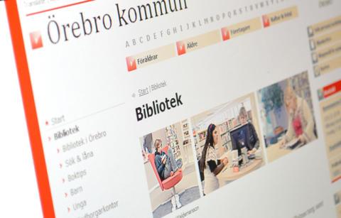Seniorsurf och start för IT-guidning på Haga bibliotek, Örebro