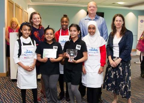 Schools win for 'meal in a barrow' at BBC Gardeners' World Live