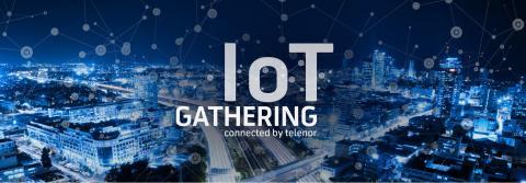 Presseinvitasjon:  Årets største møteplass for tingenes internett