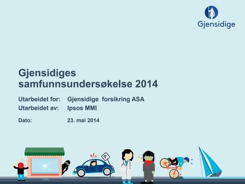 Gjensidiges samfunnsundersøkelse 2014