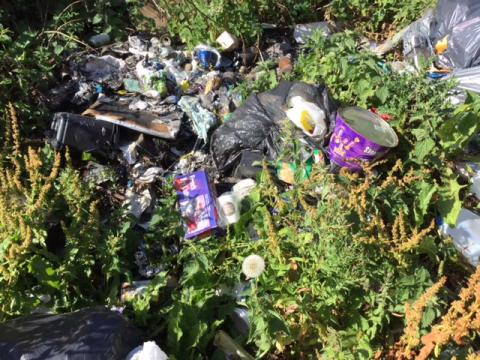 Fly-tipper caught on CCTV fined £400