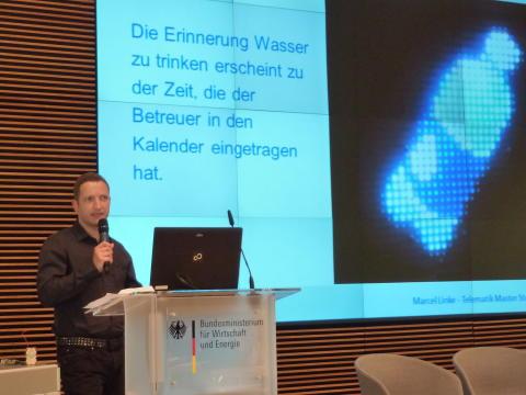 """TH Wildau mit """"Hilfen für Demente im häuslichen Umfeld"""" am 24. Februar 2016 auf der 11. Landeskonferenz """"Telematik im Gesundheitswesen"""""""
