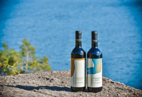 Vin från Högberga Vinfabrik