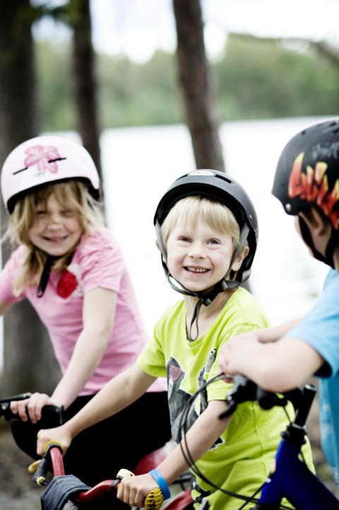 Biking with kids, Jämtland Härjedalen