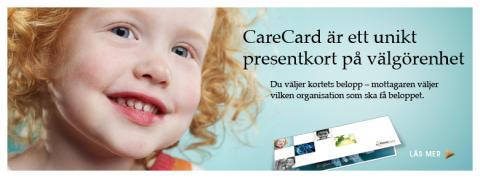 Presentkort till välgörenhet