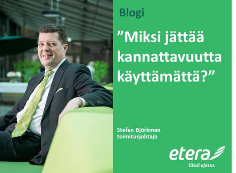 Stefan Björkman: Käyttämätöntä kannattavuutta
