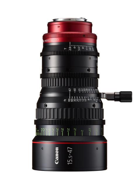 Canon utökar serien EF-Cinema objektiv med fyra kompakta, lätta 4k-modeller.