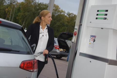 Tankställen för gas renoveras