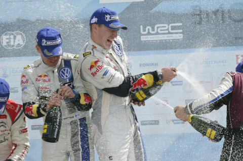 Victory for Latvala and Volkswagen at WRC Acropolis Rally in Greece