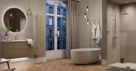 INR växer österut: Nu lanseras INR Iconic Nordic Rooms med succékoncept 'Nästa generations badrumsinredning' på finska marknaden
