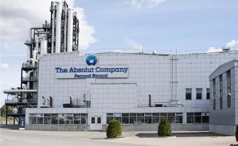 Malmberg installerar sprinklersystem för Absolut  Company AB i Nöbbelöv