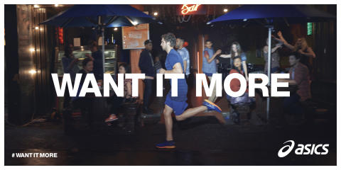 ASICS #WANT IT MORE
