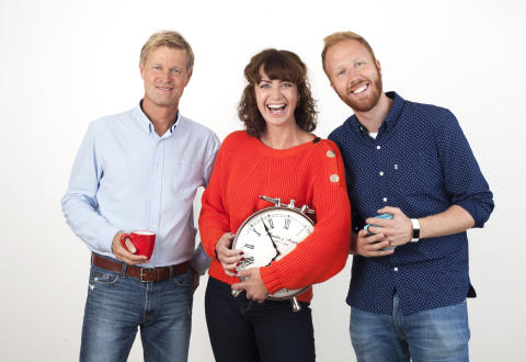 Trioen i P4s Radiofrokost kåret til årets programledere