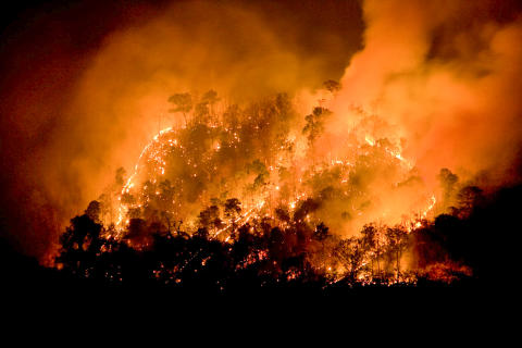 Climate change will increase fire risk