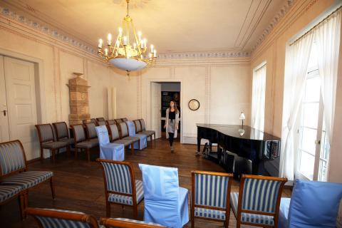 Schumann-Haus Leipzig - Schumann-Saal - Foto Andreas Schmidt