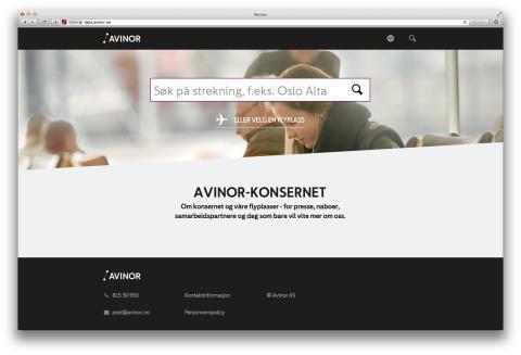 Nye nettsider og enklere Wi-Fi på Oslo Lufthavn