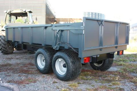 Multitrailer dumpervagn